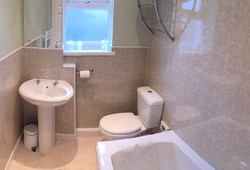 Room 1, Large En-Suite, Bath with over head shower